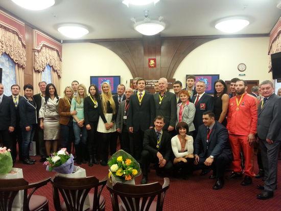 Москва объединила фехтование и самбо