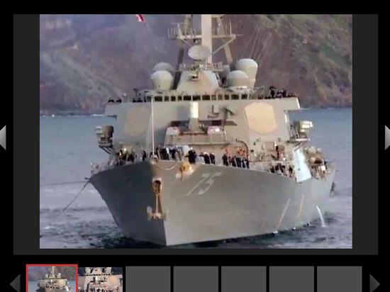 Американский фрегат Taylor, севший на турецкую мель, вошел в Черное море