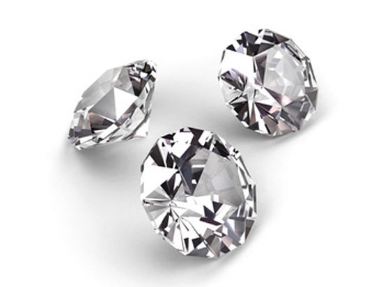 Внутри алмазов нарисуют знак качества