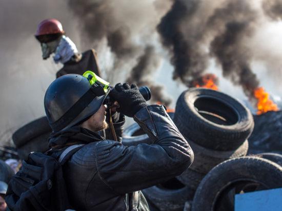 Огненные баррикады Майдана