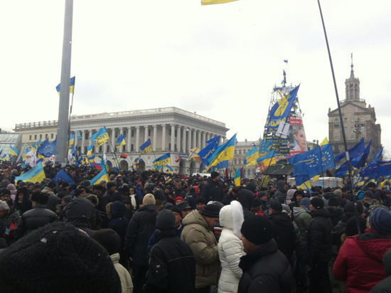 Майдан решил «стоять до последнего»
