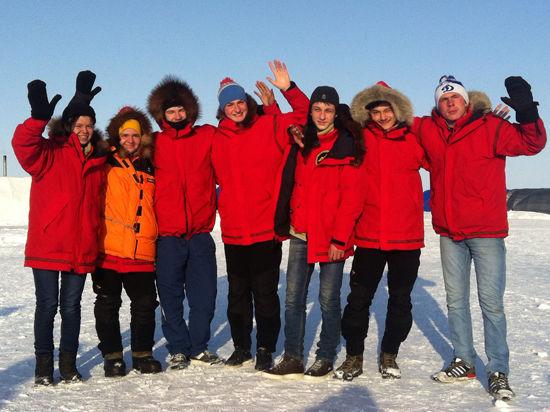 Дети с ограниченными возможностями покорили Северный полюс