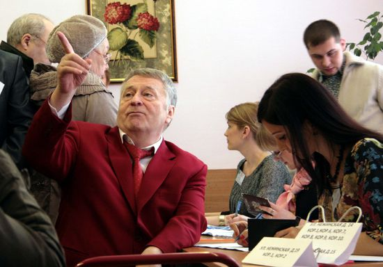 Жириновский заявил, что буква «Ы» позорит Россию перед Европой