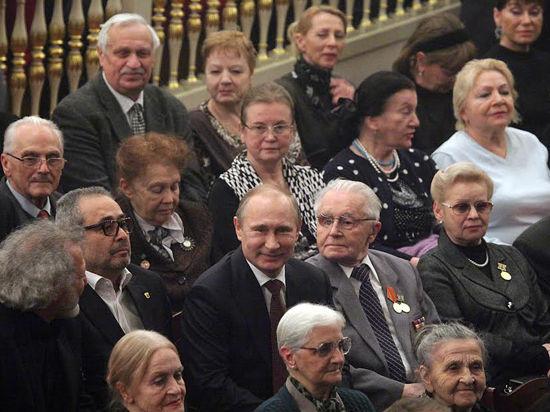 Владимир Путин пришел на балет, посвященный блокаде Ленинграда