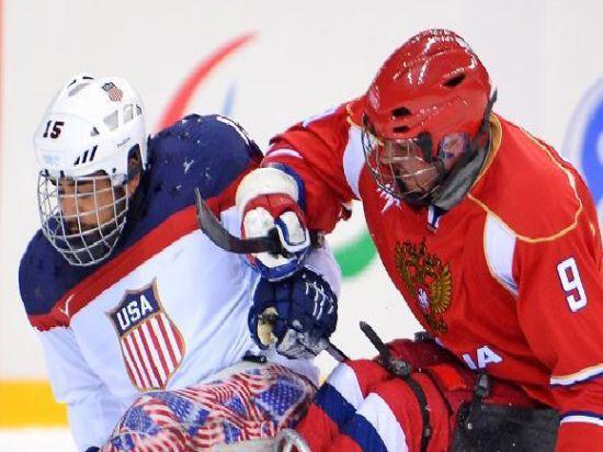 Сборная России по следж-хоккею проиграла финал Паралимпиады