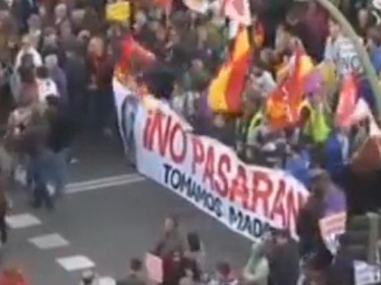 Мадрид пошел по сценарию Майдана