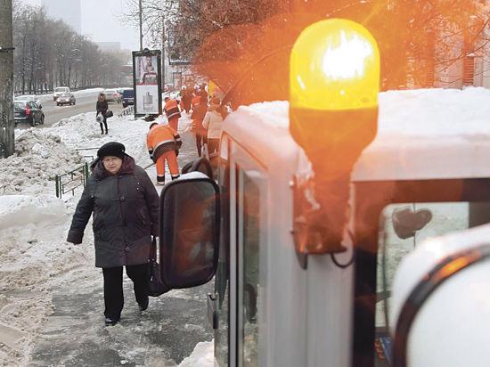 Зима в Одинцовском районе снова наступила внезапно