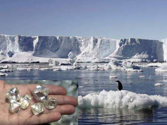 В Антарктиде обнаружены залежи отличных алмазов