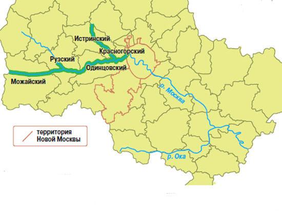 Москву-реку загонят  в парк