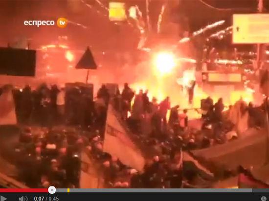 МИД РФ возложил ответственность за беспорядки в Киеве на «лидеров площади»