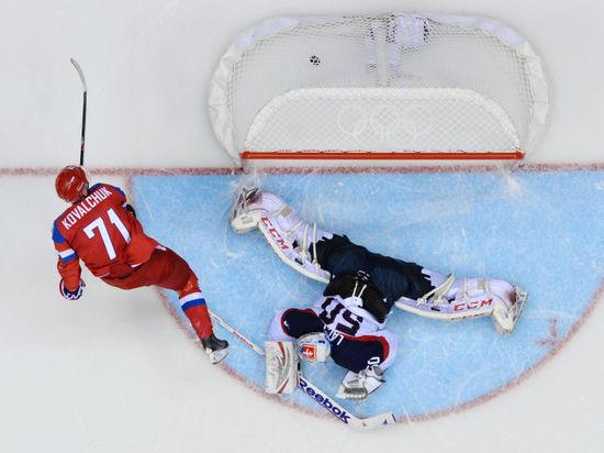 Сборная России с трудом одолела Словакию и не вышла в 1/4 финала
