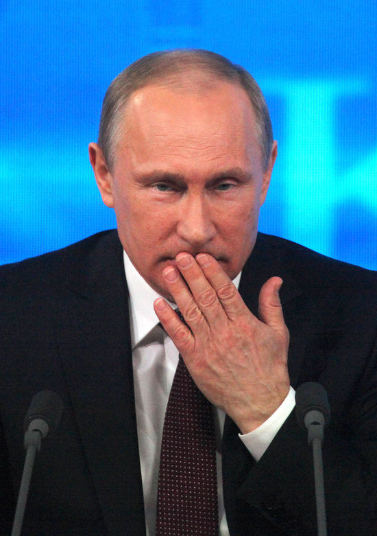 Влюблены в Путина: рейтинг президента взлетел до небес