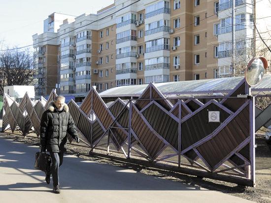В Москве процветают самостийные стоянки