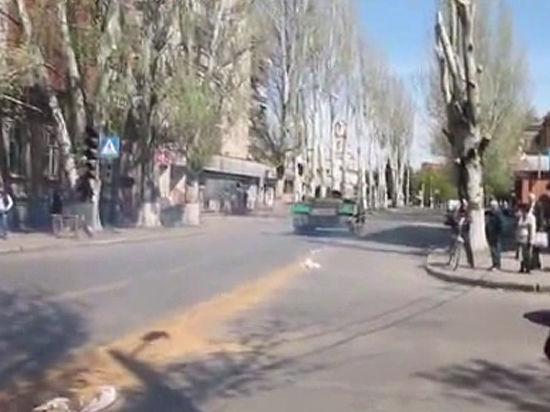 Штурм Славянска: есть жертвы