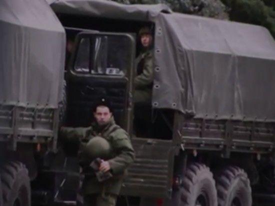Власть в Крыму захватили анонимы под российским флагом