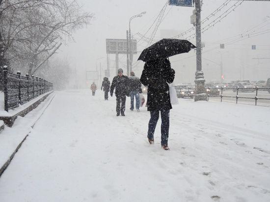 Москву завалит первоапрельским снегом