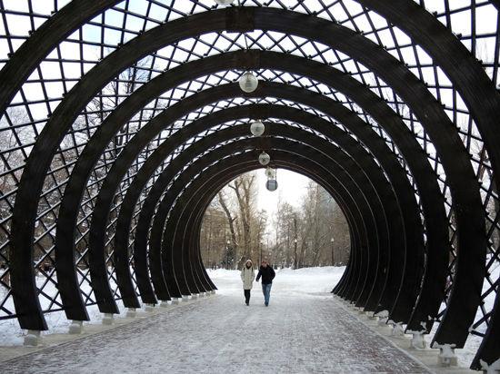 Парк Горького будут обогревать сахаром