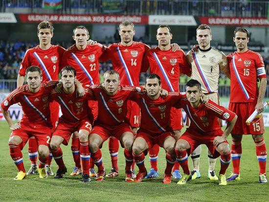 Сборная России по футболу вошла в 20-ку лучших команд мира