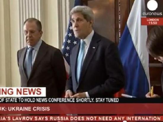 Лавров и Керри попытались договориться о том, как поступить с Украиной и Приднестровьем