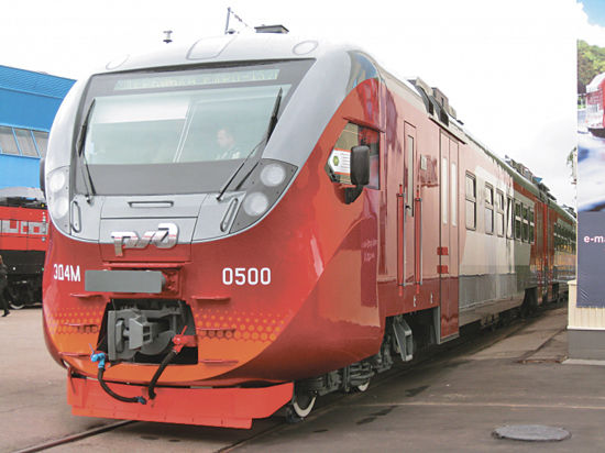 Новые поезда Подмосковья