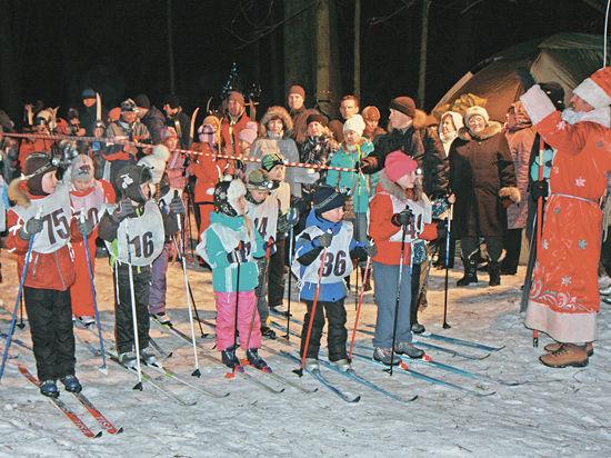 В Новый год –  на лыжах