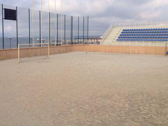 Пляжный стадион в Крыму послужит российскому волейболу