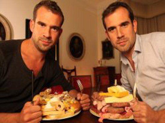 Британцы провели диетический эксперимент с участием братьев-близнецов