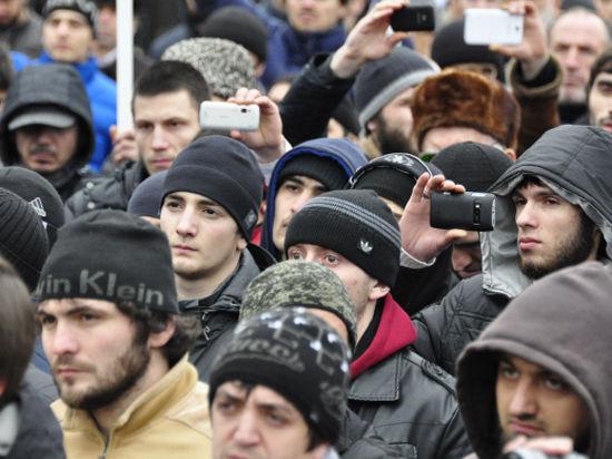 Организаторы митинга кавказцев на Манежной подали заявку в мэрию Москвы