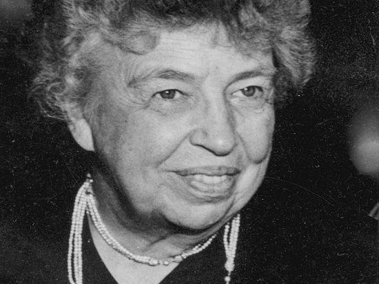 Лучшей президентской женой признали Элеонору Рузвельт