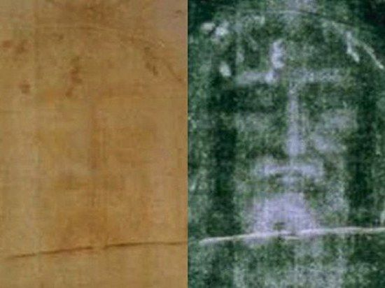 Лик Христов проявился на Туринской плащанице после землетрясения