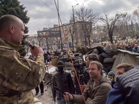 Киев поставил ультиматум востоку Украины