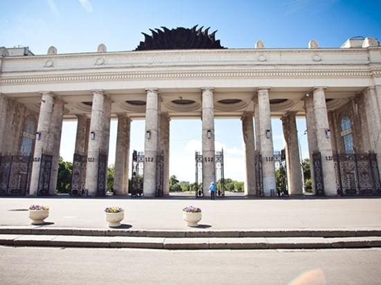 На смотровой площадке Парка Горького установят бинокли