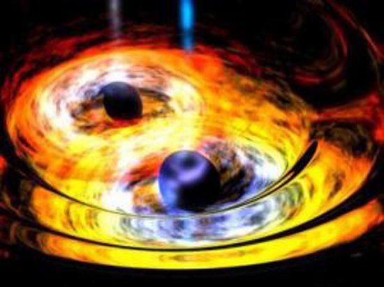 Ученым удалось зафиксировать начало формирования сверхмассивной черной дыры