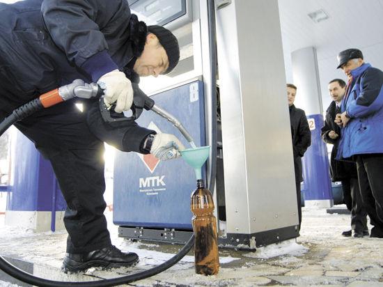 Бензин взял курс на повышение