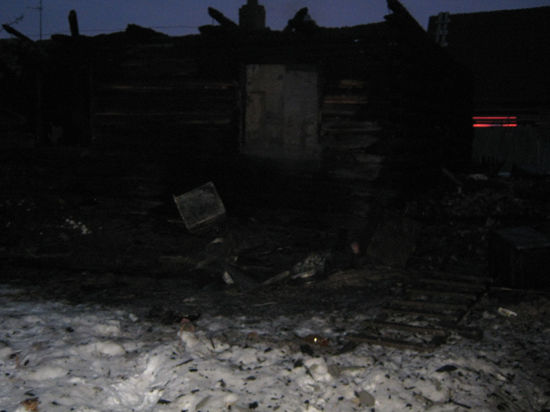 Гибель пятерых детей в Тюменской области: спастись им помешали газовые баллоны