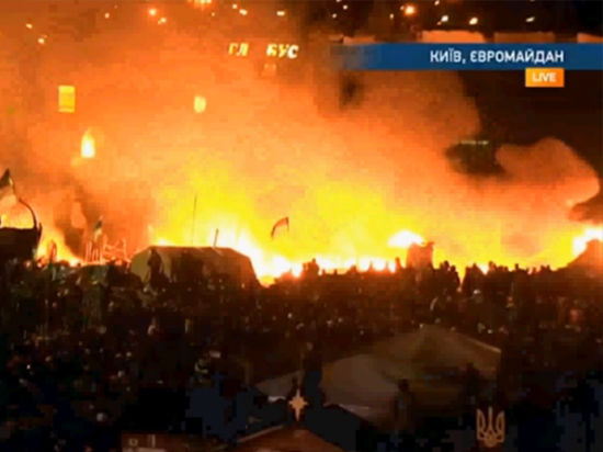 Новые беспорядки в Киеве: как отреагировал Запад
