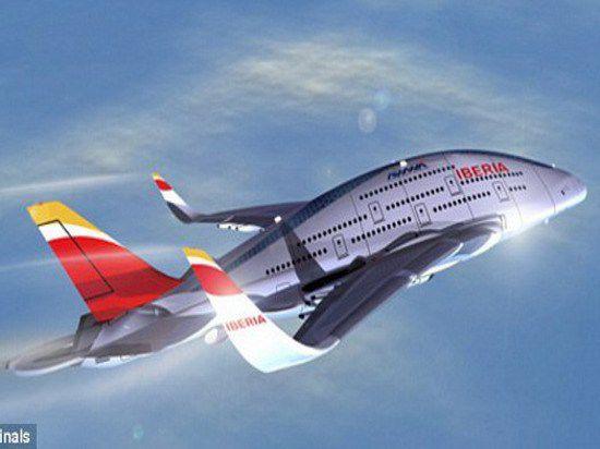 Инженер предложил проект трёхэтажного самолёта для гражданской авиации