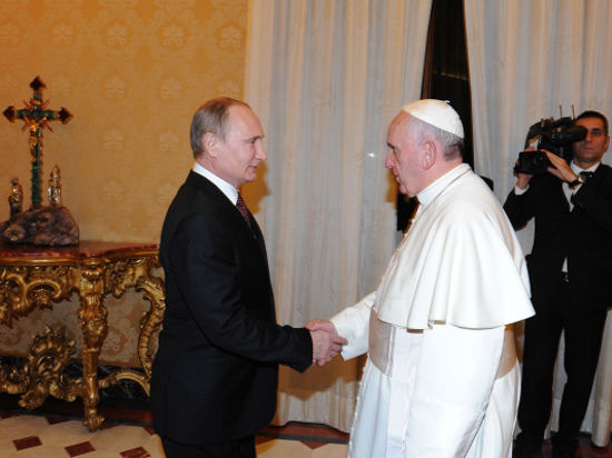 «Человек года 2013» Папа Франциск празднует день рождения