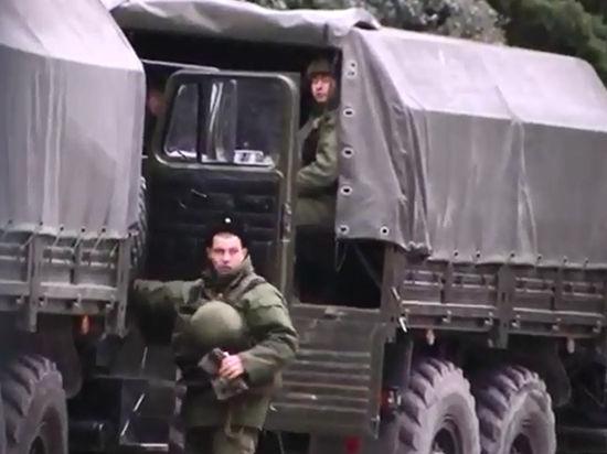 Российская армия уже в Крыму?