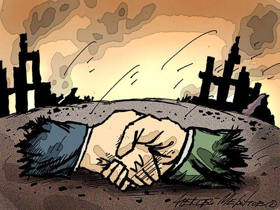 Россия—Украина: Прощай, оружие