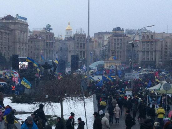 Майдан собрался выметать власть