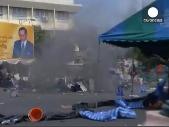 Новые столкновения в Таиланде: есть погибшие и раненые