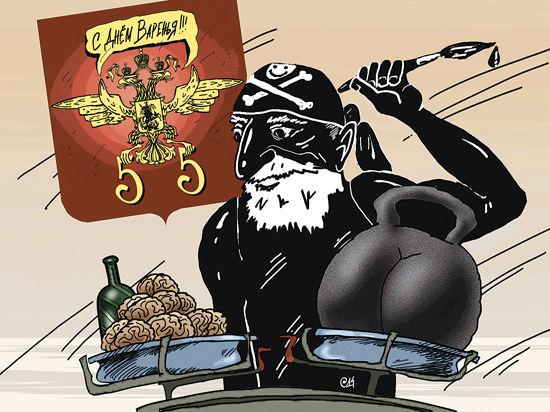 Художнику Алексею Меринову — 55! Редакция «МК» нарисовала на него карикатуру