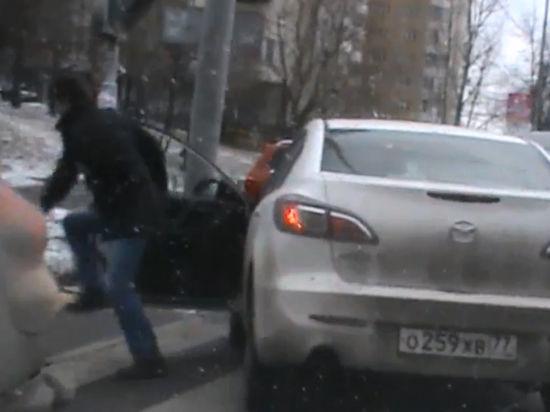 В Москве полицейские задержали угонщика по горячим следам