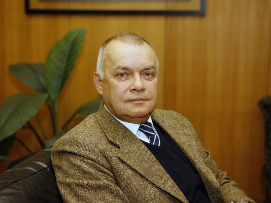 Первый эфир Киселева после санкций: Ковальчук и унитазы