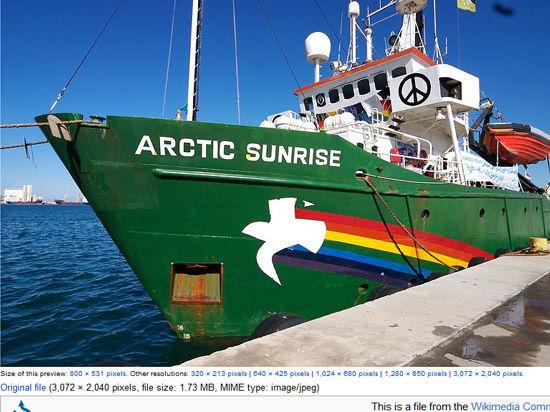 Амнистированы первые члены экипажа Arctic Sunrise