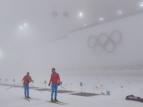 Биатлон нагнал туману