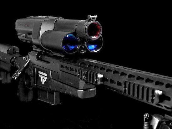 Американцы испытывают винтовку, поражающую цель без участия стрелка