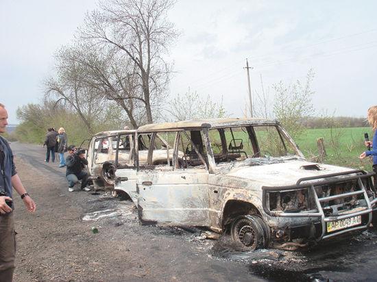 Боевики «Правого сектора» нарушили пасхальное перемирие в Славянске