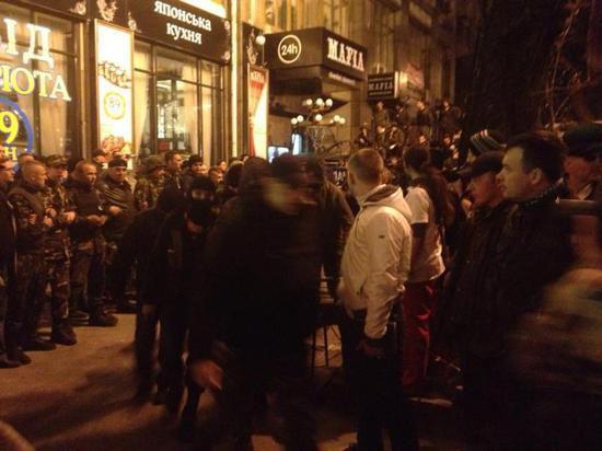 В Киеве раздались новые выстрелы